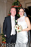 Lorraine Donlon, Newcasetle West,and Gary Brogan, son of Jack and Rose, Ballymoe, Newcastle West, who were married on Thursday,in the church of the Visitation, of the Blessed Virgin Mary, Monagea Newcastle West, Co Limerick. Very Reverend Frank Duhig officiated at the ceremony. Best man was Kevin and Chris Brogan (brothers of the groom). Bridesmaids were, Emma and Brónag Donlon (sisters of the bride). Flowergirl was Grace Donlon. Pageboy was Rían Donlan. The reception was held in Ballygarry House Hotel & Spa, Tralee. The couple will reside Newcastle West.