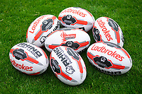 Picture by Alex Whitehead/SWpix.com - 12/05/2018 - Rugby League - Ladbrokes Challenge Cup - Castleford Tigers v St Helens - Mend-A-Hose Jungle, Castleford, England - Match balls.