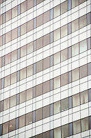 Abstract Close Up of an Office Block in the Central Business District (CBD) of Singapore