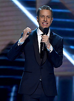 LOS ANGELES - DECEMBER 6: Host Geoff Keighley appears onstage at the 2018 Game Awards at the Microsoft Theater on December 6, 2018 in Los Angeles, California. (Photo by Frank Micelotta/PictureGroup)