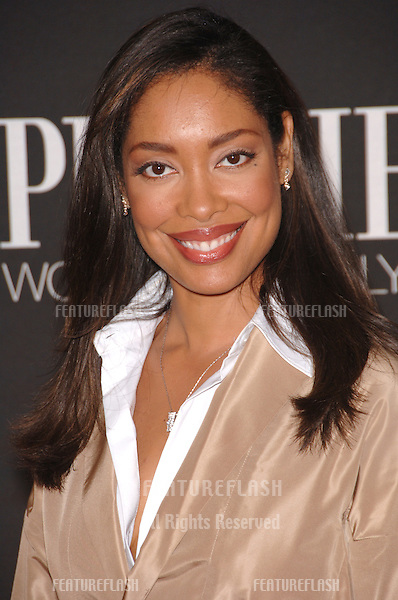 Actress GINA TORRES at the 13th Annual Premiere Magazine Women in Hollywood gala at the Beverly Hills Hotel..September 20, 2006  Los Angeles, CA.© 2006 Paul Smith / Featureflash