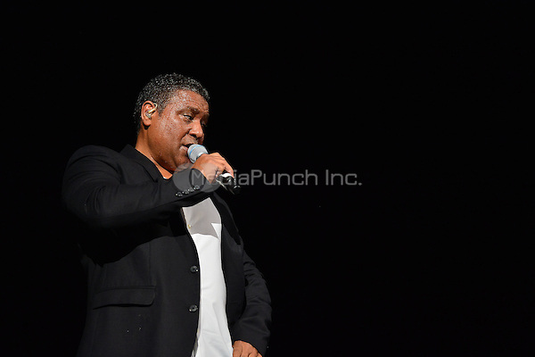 CORAL GABLES, FL - FEBRUARY 27: Stevie B performs during the Super Freestyle Explosion concert at BankUnited Center on February 27, 2015 in Coral Gables, Florida. Credit: MPI10 / MediaPunch