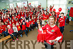 CURROW National School held a Surprise celebrations for their SNA Siobhan Fleming who won Munster Rugby's Ladies Player of the Year 2017