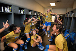 ORLANDO, FL - DECEMBER 03: Julia Hernandez #10 of UCLA gets her team pumped up prior to the Division I Women's Soccer Championship held at Orlando City SC Stadium on December 3, 2017 in Orlando, Florida. Stanford defeated UCLA 3-2 for the national title. (Photo by Jamie Schwaberow/NCAA Photos via Getty Images)