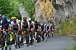 The peloton in action during Stage 10 of the 104th edition of the Tour de France 2017, running 178km from Perigueux to Bergerac, France. 11th July 2017.<br /> Picture: ASO/Pauline Ballet | Cyclefile<br /> <br /> <br /> All photos usage must carry mandatory copyright credit (&copy; Cyclefile | ASO/Pauline Ballet)