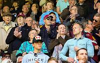 Burnley fans applaud their team<br /> <br /> Photographer Alex Dodd/CameraSport<br /> <br /> The Premier League - Burnley v Arsenal - Sunday 12th May 2019 - Turf Moor - Burnley<br /> <br /> World Copyright &copy; 2019 CameraSport. All rights reserved. 43 Linden Ave. Countesthorpe. Leicester. England. LE8 5PG - Tel: +44 (0) 116 277 4147 - admin@camerasport.com - www.camerasport.com