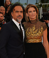 "CANNES, FRANCE. May 17, 2019:  Alejandro Gonzalez Inarritu & Maria Eladia Hagerman at the gala premiere for ""Pain and Glory"" at the Festival de Cannes.<br /> Picture: Paul Smith / Featureflash"