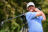 J.B. Holmes (USA) watches his tee shot on 8 during round 3 of the World Golf Championships, Mexico, Club De Golf Chapultepec, Mexico City, Mexico. 3/4/2017.<br /> Picture: Golffile | Ken Murray<br /> <br /> <br /> All photo usage must carry mandatory copyright credit (&copy; Golffile | Ken Murray)