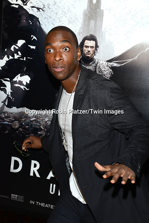 Jay Pharoah attends the Special Screening of &quot;Dracula Untold&quot;  on October 6, 2014 at The ABC Loews 34th Street Imax Theatre In New York City. <br /> <br /> photo by Robin Platzer/Twin Images<br />  <br /> phone number 212-935-0770