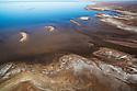 Australia, South Australia; Flooded Lake Eyre in 2011