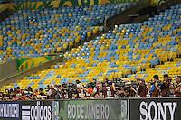 RIO DE JANEIRO, 29.06.2013 - COPA DAS CONFEDERAÇÕES - TREINO / BRASIL -  do Brasil durante treinamento na véspera da partida final da Copa das Confederações contra a Espanha no Estádio do Maracanã na cidade do Rio de Janeiro, neste sábado, 29. (Foto: William Volcov / Brazil Photo Press).