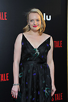 www.acepixs.com<br /> <br /> April 25 2017, LA<br /> <br /> Elisabeth Moss arriving at the premiere of  'The Handmaid's Tale' at the ArcLight Cinemas Cinerama Dome on April 25, 2017 in Hollywood, California.<br /> <br /> By Line: Peter West/ACE Pictures<br /> <br /> <br /> ACE Pictures Inc<br /> Tel: 6467670430<br /> Email: info@acepixs.com<br /> www.acepixs.com