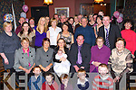Michelle Flynn and Denis O'Sullivan Farranfore celebrate the christening of their daughter Ciara with their family and friends in Ulicks bar, Farranfore on Saturday night    Copyright Kerry's Eye 2008