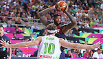 07.09.2014. Barcelona, Spain. 2014 FIBA Basketball World Cup, round of 8. Picture show D. Cousins in action during game between Slovenia v Usa at Palau St. Jordi.