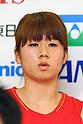 Mizuki Fujii (JPN), .June 9, 2012 - Badminton : .Badminton Japan National Team Send-off Ceremony for the London Olympics 2012 .in Tokyo, Japan. .(Photo by Daiju Kitamura/AFLO SPORT) [1045]