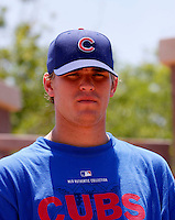 Aaron Shafer / AZL Cubs..Photo by:  Bill Mitchell/Four Seam Images