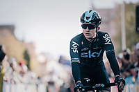 Michal Kwiatkowski (POL/SKY) at sign-on<br /> <br /> Il Lombardia 2017<br /> Bergamo to Como (ITA) 247km