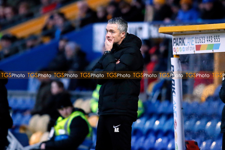 O's manager Andy Edwards during Mansfield Town vs Leyton Orient, Sky Bet EFL League 2 Football at the One Call Stadium on 28th January 2017