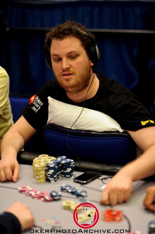 Scott Seiver doubles through Jordan Morgan.