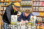 Sports reporter Murt Murphy give the inside story from Tomas O Se at his book signing in O'Mahony's Bookshop Tralee on Saturday