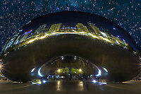 The Chicago Bean in Millennium Park