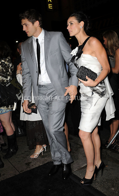 WWW.ACEPIXS.COM . . . . . ....October 28 2009, New York city....Ashton Kutcher and Demi Moore at the GQ Gentelmen's Ball 2009 at The Edison Ballroom on October 28, 2009 in New York City.....Please byline: KRISTIN CALLAHAN - ACEPIXS.COM.. . . . . . ..Ace Pictures, Inc:  ..tel: (212) 243 8787 or (646) 769 0430..e-mail: info@acepixs.com..web: http://www.acepixs.com