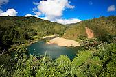 Rivière Tiwaka lieu-dit Le Coude, Chaîne centrale, route Koné-Tiwaka, province Nord