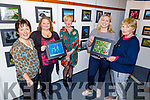 The 5 photographers who launched their Photography Exhibition in the Tralee Library on Thursday as a fundraiser for the Kerry branch of the Alzheimer's Society.<br /> Front l to r: Joanne Neligan and Marie Toomey.<br /> Back l to r: Mary Devane, Sadhbh O'Connell and Catherine Dolan.