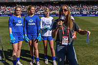 CHICAGO, IL - OCTOBER 06: Allstate Halftime during a game between the USA and Korea Republic at Soldier Field, on October 06, 2019 in Chicago, IL.