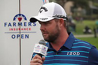 Marc Leishman (AUS) after the final round of the Farmers Insurance Open, Torrey Pines, La Jolla, San Diego, USA. 25/01/2020<br /> Picture: Golffile | Phil INGLIS<br /> <br /> <br /> All photo usage must carry mandatory copyright credit (© Golffile | Phil Inglis)