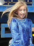 Aoife Finglas dancing at Naomh Mairtin sports day. Photo: Colin Bell/pressphotos.ie