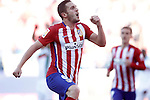 Atletico de Madrid's Koke Resurrecccion celebrates goal during La Liga match. April 17,2016. (ALTERPHOTOS/Acero)