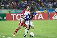 BELO HORIZONTE, MG, 25.02.2014 &ndash; COPA LIBERTADORES DA AM&Eacute;RICA 2014 &ndash; CRUZEIRO X UNIVERSIDAD DO CHILE Dagoberto jogador do Cruzeiro durante <br /> jogo contra Universidad do Chile jogo valido pela 2&ordf; rodada da  Copa Libertadores da Am&eacute;rica 2014, no est&aacute;dio Miner&atilde;o, na tarde de <br /> Ter&ccedil;a (25) (Foto:  MARCOS FIALHO / BRAZIL PHOTO PRESS)