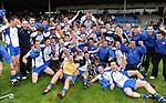 XXjob 12/10/2013* (SPORT)  Keel  celebrate  after winning  the Kerry junior club championship final at Fitzgerald Stadium, Killarney on Saturday.  Picture: Eamonn Keogh ( MacMonagle, Killarney)