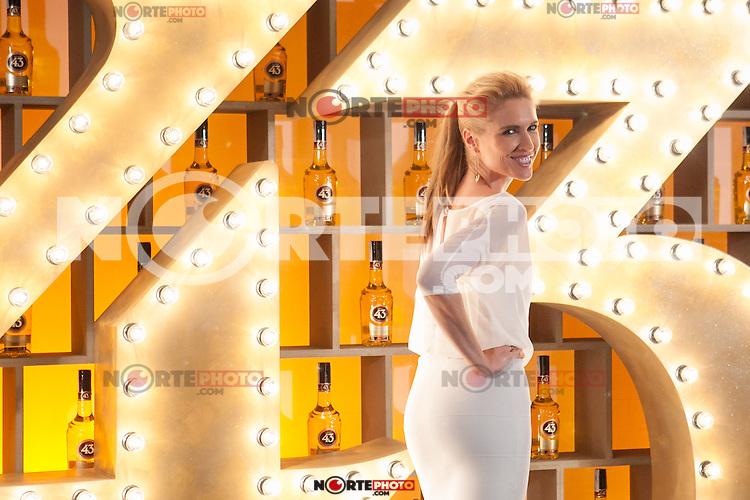 Spanish model Judit Masco poses during Licor 43 presentation in Madrid, Spain. January 29, 2015. (ALTERPHOTOS/Victor Blanco) /nortephoto.com<br /> nortephoto.com