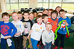 Party<br /> -------<br /> Pascal Buckley,Caherslee (front centre) had a great time celebrating his 7th birthday in the New John Mitchells GAA facilities,Ballyseedy,Tralee last Saturday