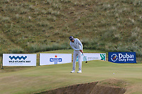 Daniel Brooks (ENG) on the 7th green during Round 2 of the Dubai Duty Free Irish Open at Ballyliffin Golf Club, Donegal on Friday 6th July 2018.<br /> Picture:  Thos Caffrey / Golffile