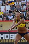 30.05.2015, Moskau, Vodny Stadion<br /> Moskau Grand Slam, Main Draw / Halbfinale<br /> <br /> Zuspiel Yuan Yue (#2 CHN)<br /> <br />   Foto &copy; nordphoto / Kurth