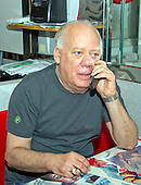 Jeffrey N. Gildenhorn, owner of the American City Diner, 5532 Connecticut Ave, NW; Washington, DC 20015 speaks on his cell phone at the diner in Washington, DC on Tuesday, August 11, 2015.<br /> Credit: Ron Sachs / CNP<br /> (RESTRICTION: NO New York or New Jersey Newspapers or newspapers within a 75 mile radius of New York City)