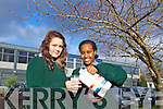 Tabitha Boulding and Aisha Hassan from Tralee Community College who have been shortlisted for the Think Milk National Dairy Council Awards.