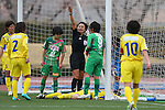 Sachiko Yamagishi Referee, .MARCH 23, 2013 - Football /Soccer : .Plenus Nadeshiko League 2013 .between NTV Beleza 2-0 FC Kibikokusaidaigaku Charme .at Ajinomoto Stadium West Field, Tokyo, Japan. .(Photo by YUTAKA/AFLO SPORT) [1040]