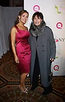 Lisa Robertson (QVC Host) & Linda Dano (Another World, AMC, OLTL, GH) at 18th Annual QVC FFANY Shoes on Sale - a benefit for Breast Cancer Research and Education on October 13, 2011 at the Waldorf Astoria Hotel, New York City, New York. (Photo by Sue Coflin/Max Photos)