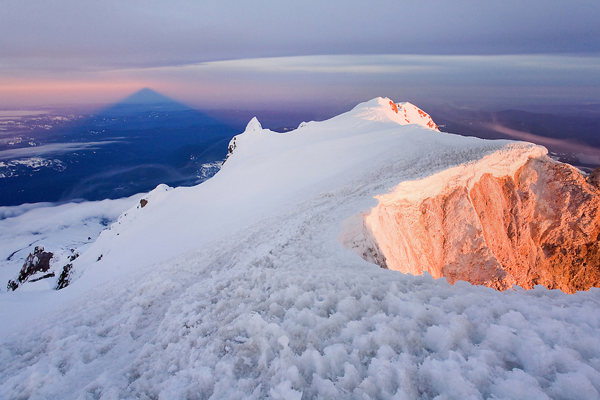 """MOUNT HOOD IN APRIL"""