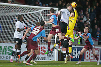 Frank Fielding (Bristol City) collects<br />  - Scunthorpe United vs Bristol City - Sky Bet League One Football at Glanford Park, Scunthorpe, Lincolnshire - 17/01/15 - MANDATORY CREDIT: Mark Hodsman/TGSPHOTO - Self billing applies where appropriate - contact@tgsphoto.co.uk - NO UNPAID USE
