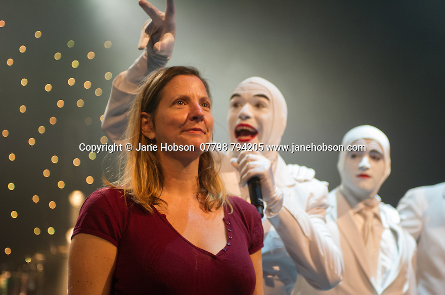 Edinburgh, UK. 02.08.2014. The Pleasance hosts its press launch in its 30th anniversary year on the Fringe. Picture shows: VOCA PEOPLE. Photograph © Jane Hobson,