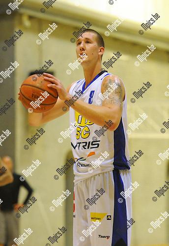2013-08-18 / Basketbal / seizoen 2013-2014 / Sint-Jan Antwerpen / Bram Raes<br /><br />Foto: Mpics.be