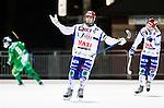 Stockholm 2015-01-16 Bandy Elitserien Hammarby IF - IFK Kung&auml;lv :  <br /> Kung&auml;lvs Mikael Lindberg reagerar och sl&aring;r ut med armarna under matchen mellan Hammarby IF och IFK Kung&auml;lv <br /> (Foto: Kenta J&ouml;nsson) Nyckelord:  Elitserien Bandy Zinkensdamms IP Zinkensdamm Zinken Hammarby Bajen HIF IFK Kung&auml;lv depp besviken besvikelse sorg ledsen deppig nedst&auml;md uppgiven sad disappointment disappointed dejected arg f&ouml;rbannad ilsk ilsken sur tjurig angry