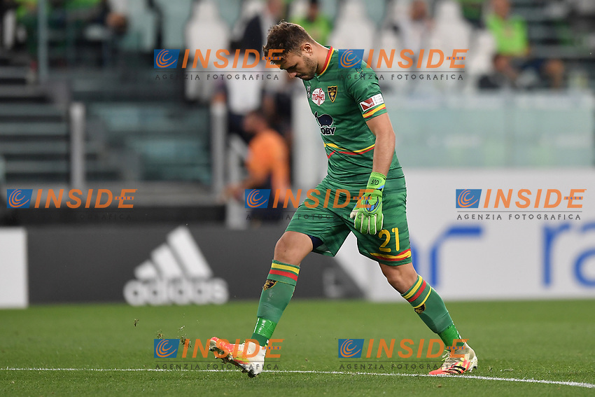 Gabriel of Lecce during the Serie A football match between Juventus FC and US Lecce at Juventus stadium in Turin  ( Italy ), June 26th, 2020. Play resumes behind closed doors following the outbreak of the coronavirus disease. Photo Andrea Staccioli / Insidefoto