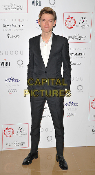 Thomas Brodie-Sangster attends the London Critics' Circle Film Awards 2016, May Fair Hotel, Stratton Street, London, UK, on Sunday 17 January 2016.<br /> CAP/CAN<br /> &copy;CAN/Capital Pictures