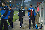 Raith Rovers loan player Barrie McKay with the Rangers squad